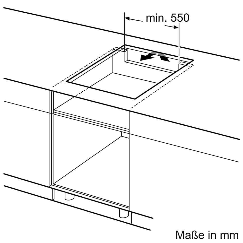 Bếp Từ 4 Vùng Nấu Bosch PIE645BB1E Series 4