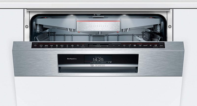 Máy Rửa Chén Bát Bosch SMI88US36E Series 8 Bán Âm-1