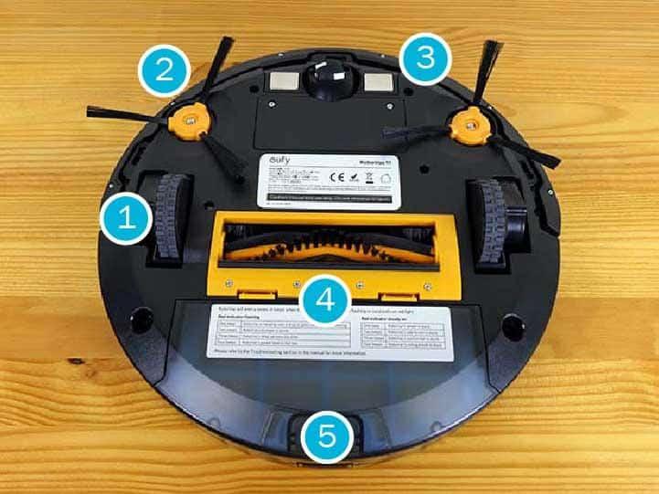 ROBOT HUT BUI EUFY ROBOVAC 11S1 Gia Dụng Đức Sài Gòn