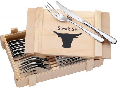 SET 6 DAO 6 NĨA WMF ĂN STEAK