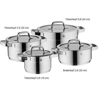 Bộ Nồi Xửng WMF Compact Cuisine Pot 6