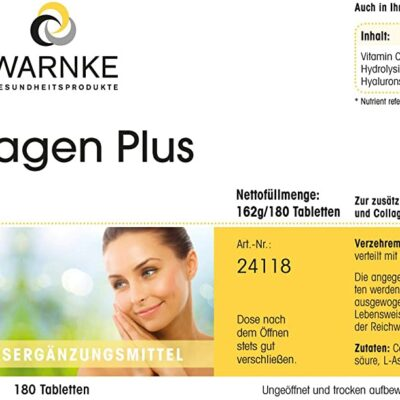 COLLAGEN PLUS WARNKE 180 VIÊN