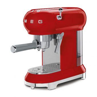 Máy Pha Cafe Smeg ECF01RDEU Red