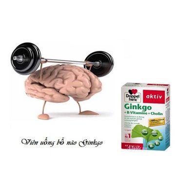 Thuốc Bổ Vitamin B + Cholin Ginkgo - 40 Viên