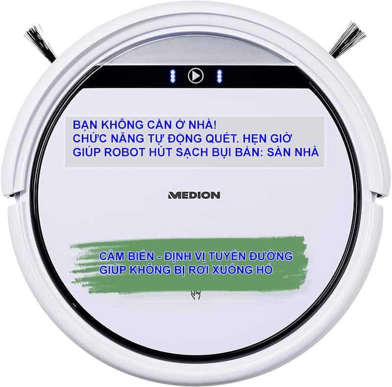 ROBOT HUT BUI MEDION MD1951113 Gia Dụng Đức Sài Gòn