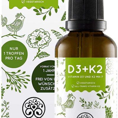 Vitamin D3 + K2 Nature Love