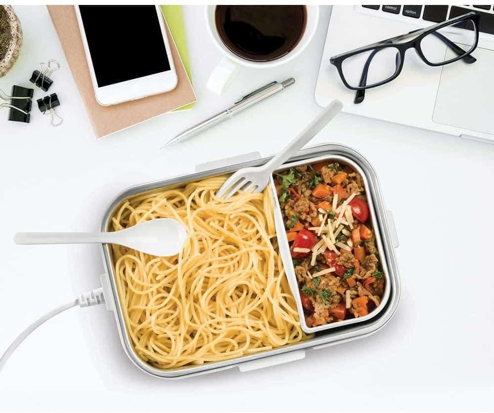 Hộp Đựng Cơm Giữ Nóng Unold 58850 Electric Lunch Box