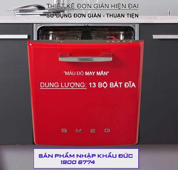 MÁY RỬA CHÉN SMEG ST2FABRD1 Gia Dụng Đức Sài Gòn