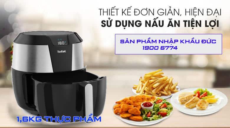 NỒI CHIÊN KHÔNG DẦU XXL TEFAL EY701D 3 1 Gia Dụng Đức Sài Gòn