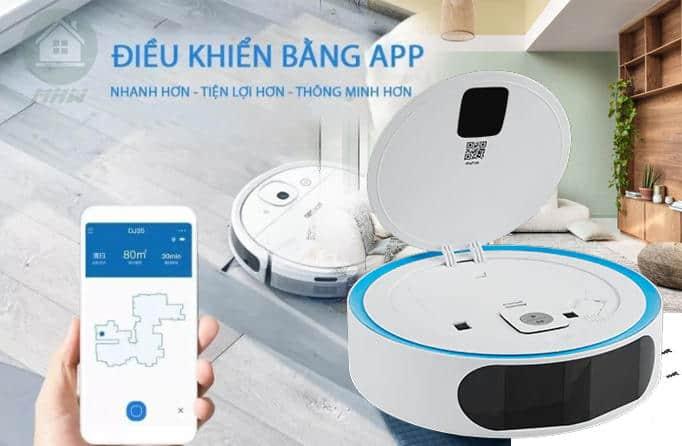 dieu khien robotlaunha app Gia Dụng Đức Sài Gòn