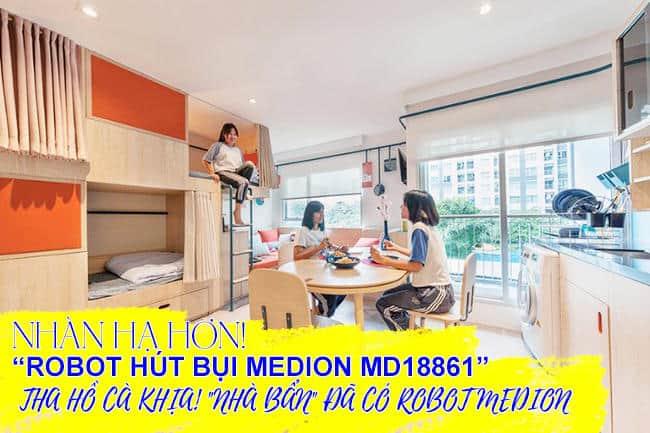 Robot Hút Bụi Medion MD 18861-6