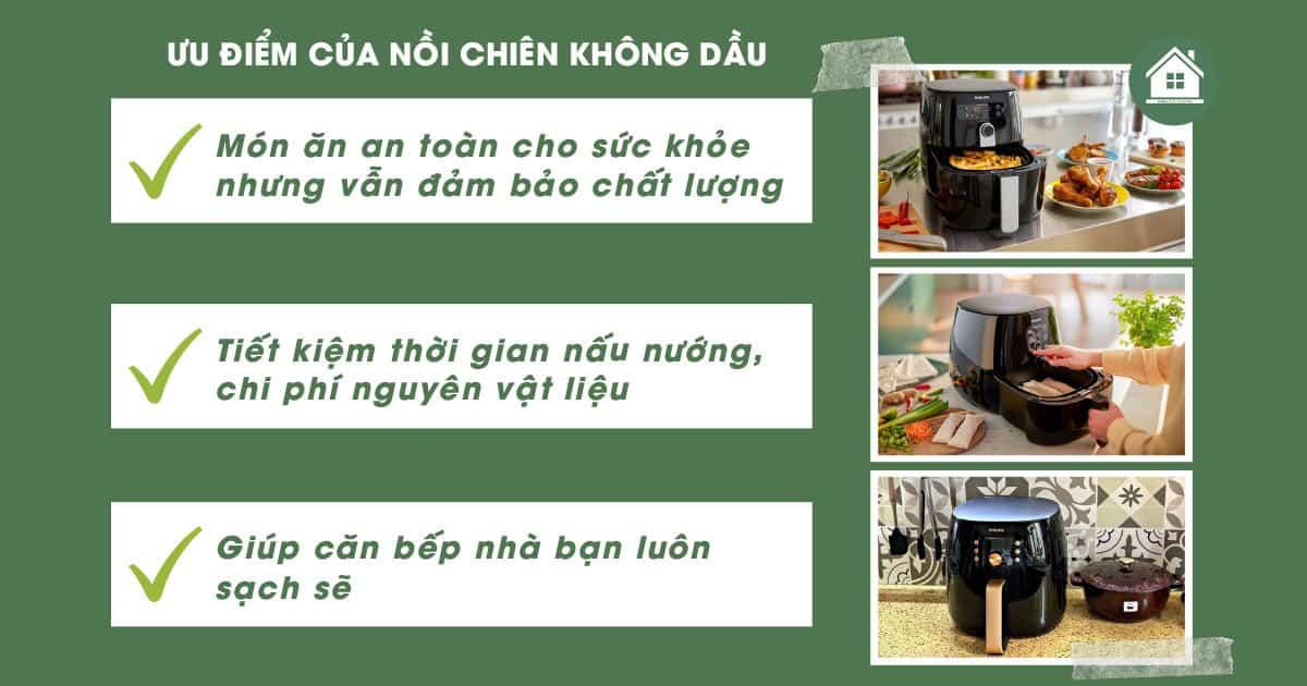 uu diem noi chien khong dau Gia Dụng Đức Sài Gòn