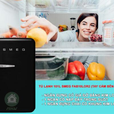 TU LANH 101L SMEG FAB10RBL2 Gia Dụng Đức Sài Gòn