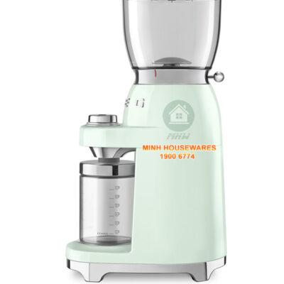 MÁY XAY CAFE SMEG CGF01PGEU màu xanh lá cây