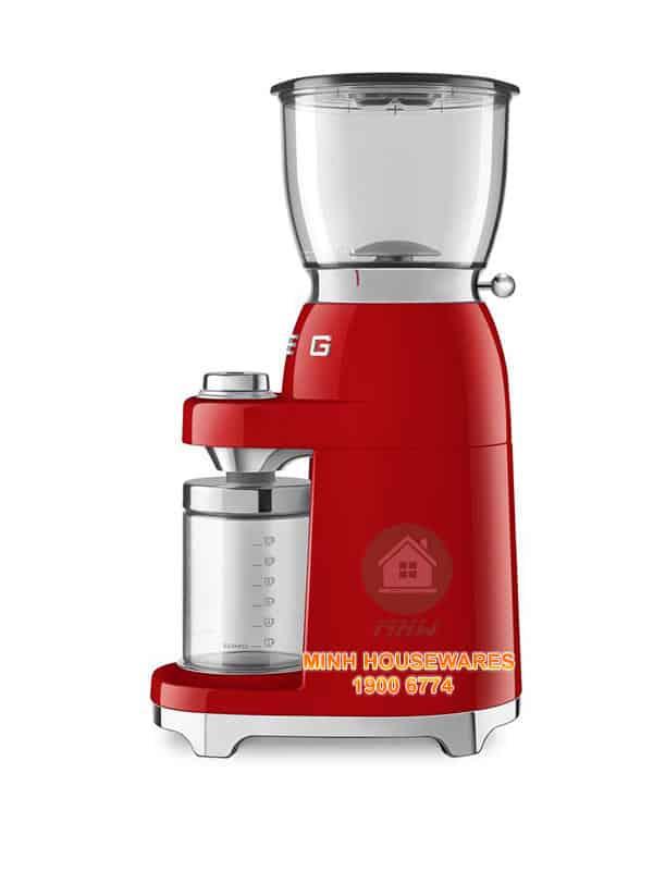 MÁY XAY CAFE SMEG CGF01RDEU màu đỏ
