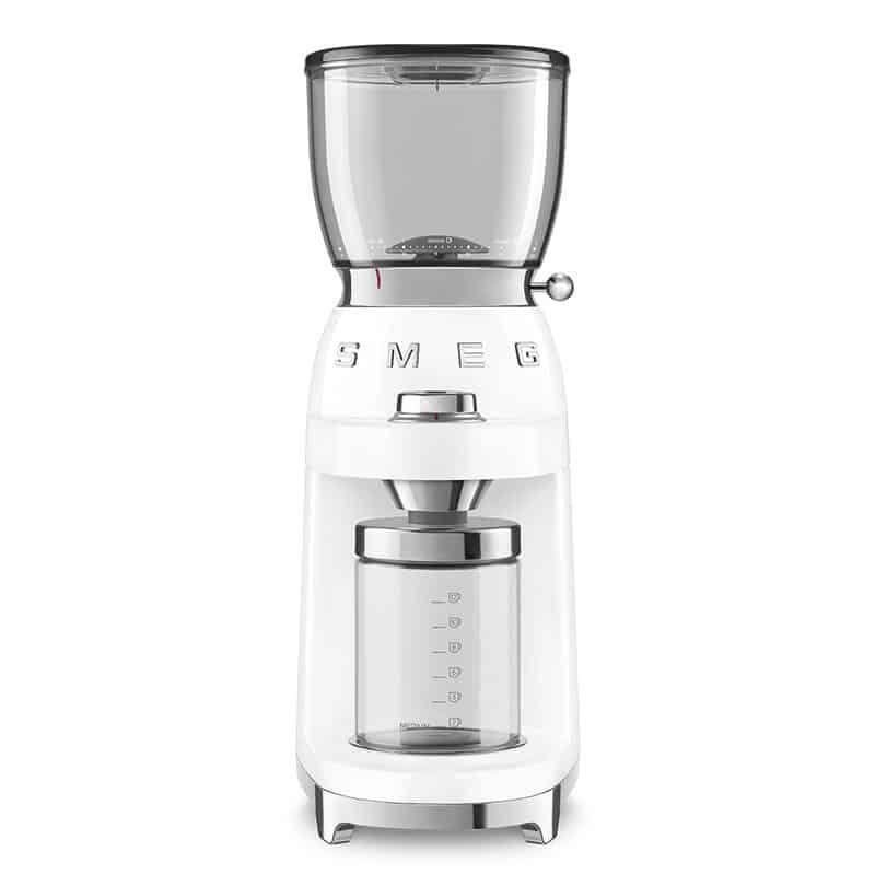 MÁY XAY CAFE SMEG CGF01WHEU màu trắng