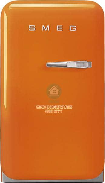 TỦ LẠNH MINI SMEG SMEG FAB5LOR3 màu cam tay cầm bên phải