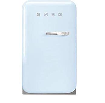 tủ lạnh mini Smeg FAB5LPB3 màu xanh dương pastel tay cầm bên phải