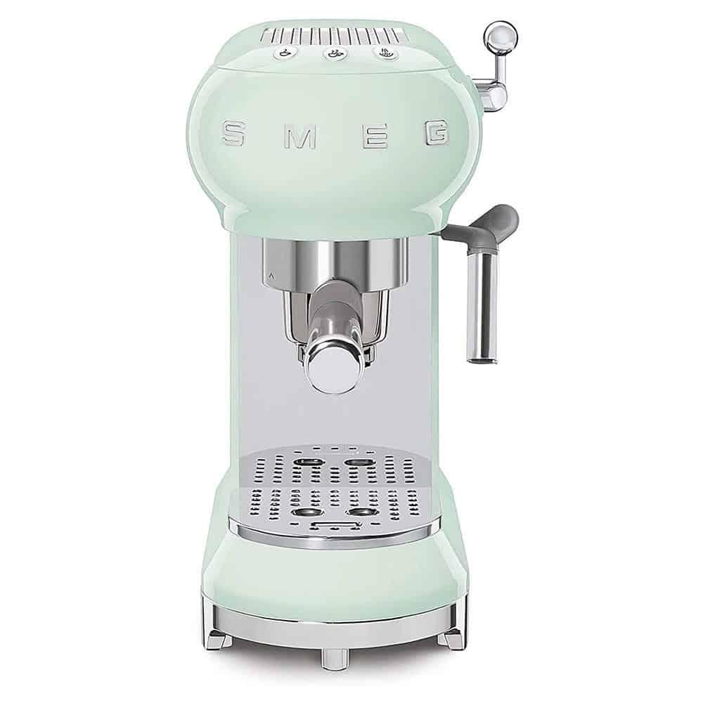 Máy Pha Cafe Smeg ECF01PGEU Pastel Green