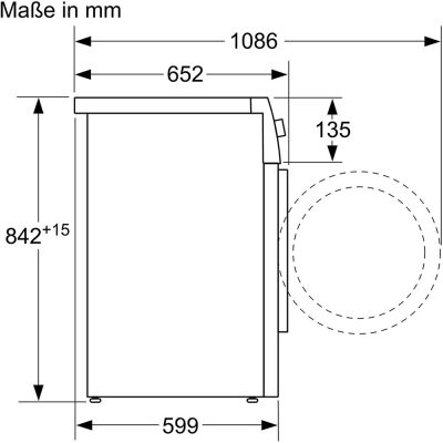 Máy Sấy Bosch WTX87M20 Series 8