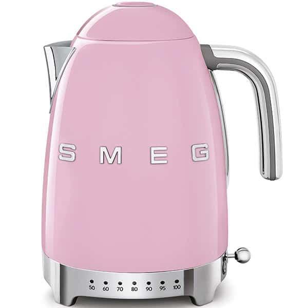 Ấm đun nước SMEG KLF04PKEU màu hồng