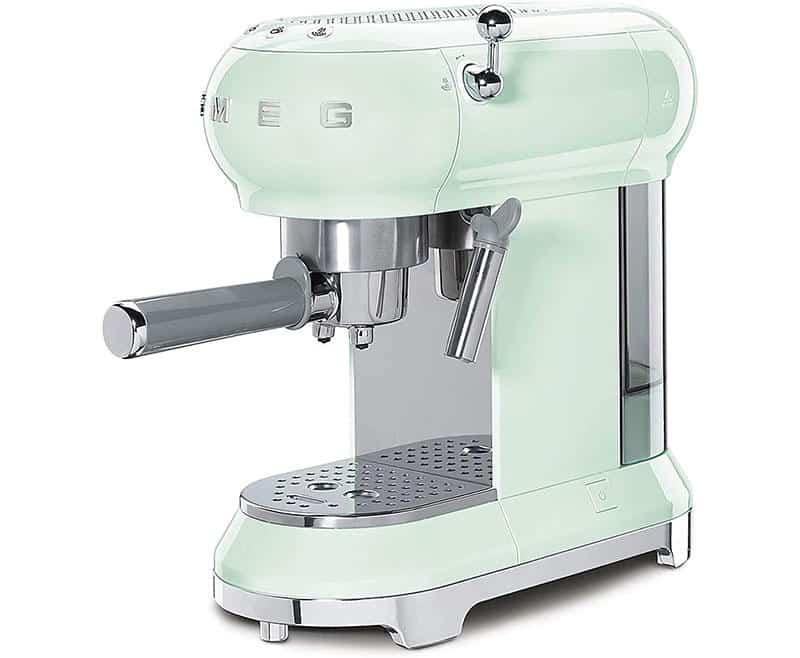 Máy Pha Cafe Smeg ECF01PGEU Pastel Green - 1
