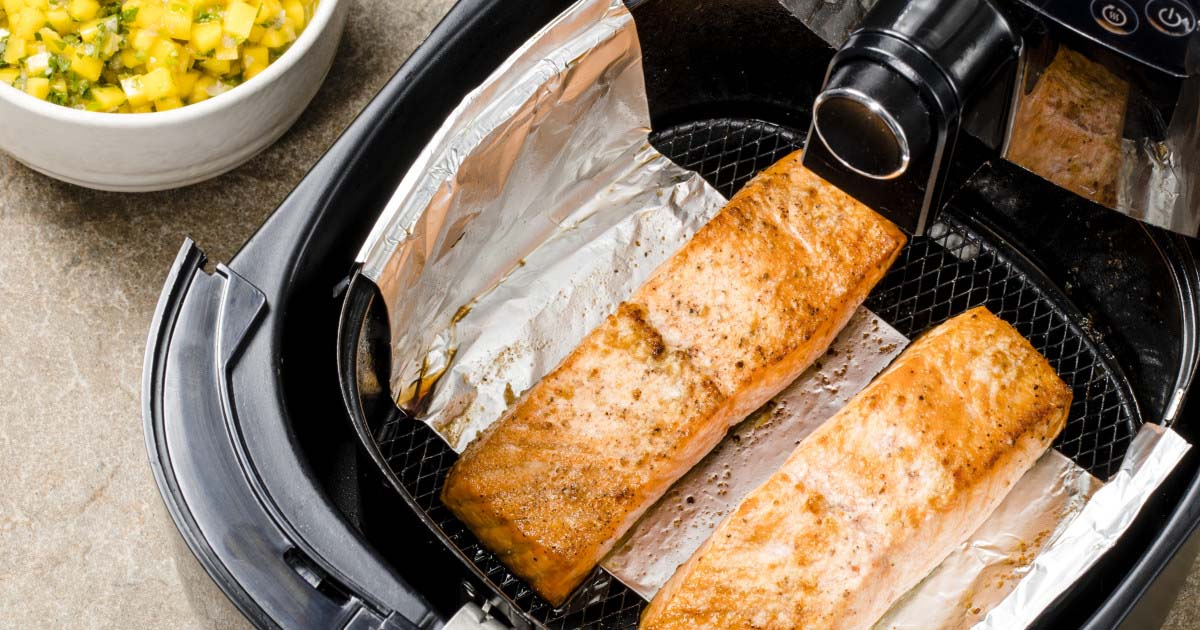 Món ăn từ nồi chiên không dầu số 11: Cá nướng
