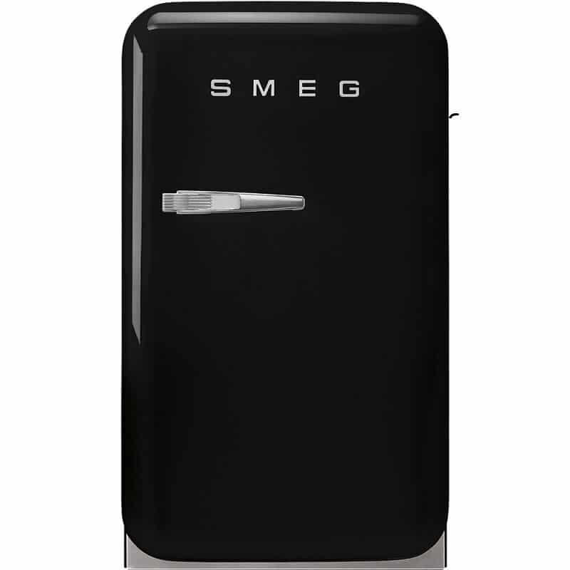 TỦ LẠNH MINI SMEG FAB5RBL3 màu đen tay cầm bên trái