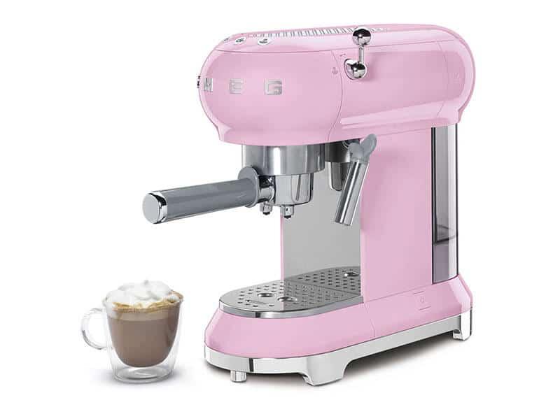 Máy Pha Cafe Smeg ECF01PKEU Pink - 2