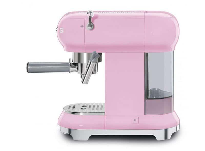 Máy Pha Cafe Smeg ECF01PKEU Pink - 1
