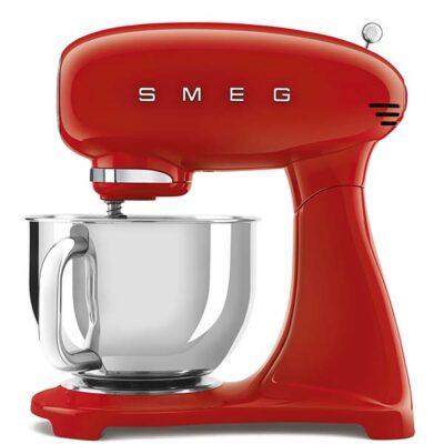 Máy trột bột SMEG SMF03RDEU màu đỏ kết hợp đánh trứng đa năng