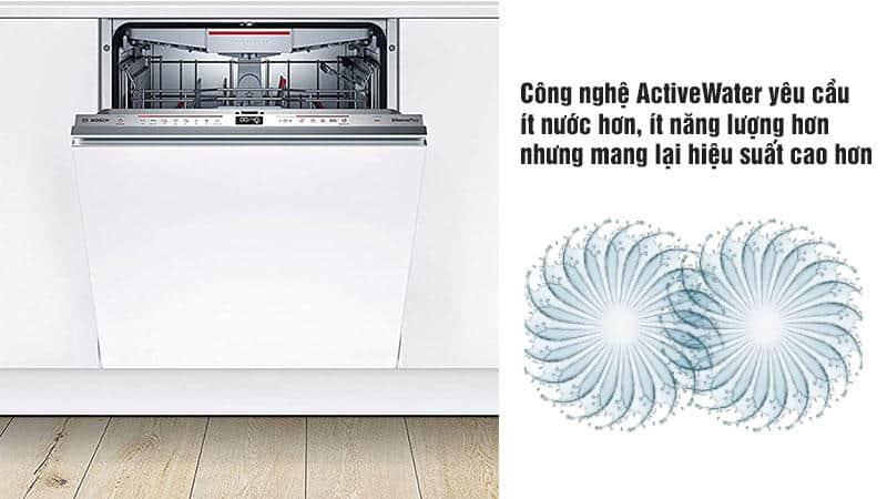 Máy Rửa Chén Bosch SMD6ECX57E Series 6 Âm Tủ