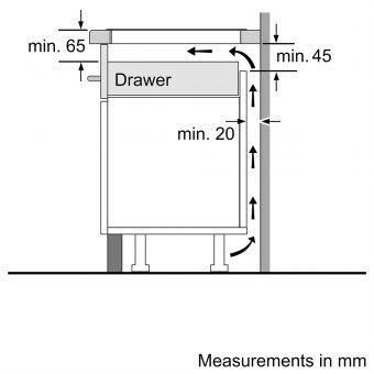 Bếp Từ Bosch PXE675DC1E Cảm Ứng Series 8