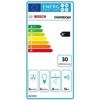 Máy Hút Mùi Bosch DWK98JQ60 Series 6
