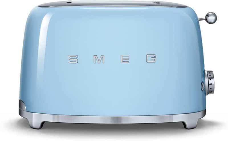 Máy Nướng Bánh Mì Smeg TSF01PBEU Pastel Blue