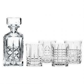Bộ Bình Và Ly Uống Rượu Nachtmann 98196 Highland Whiskyset