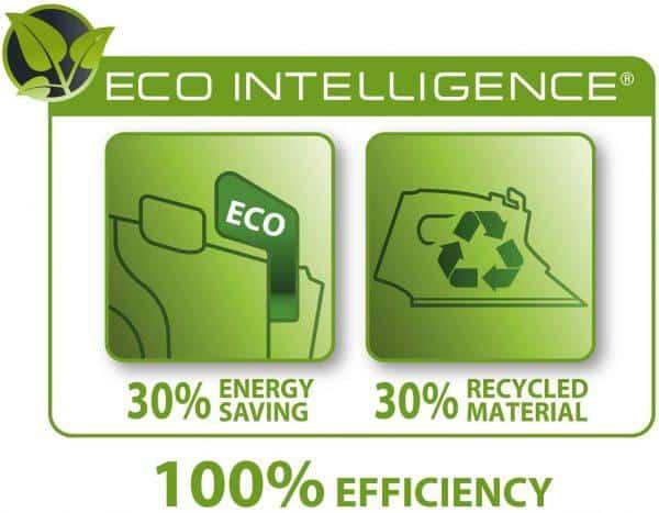 Bàn Ủi Hơi Nước Rowenta DW6030 Eco Intellogence - Black/Green - 1