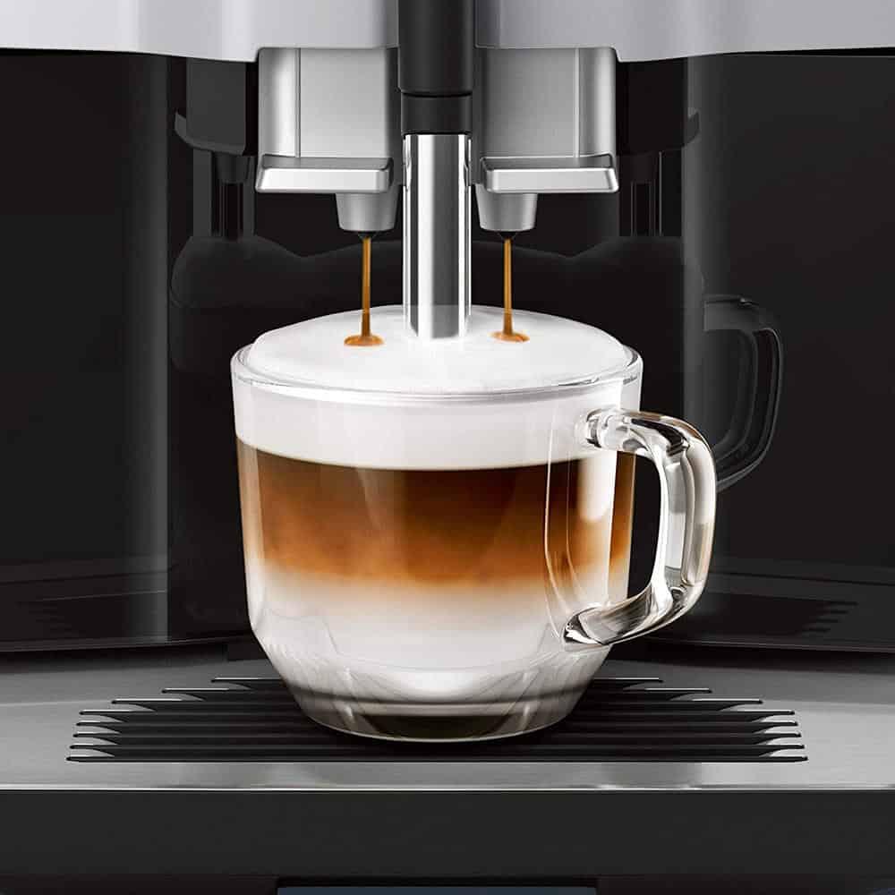 Máy Pha Cafe Tự Động Siemens TI35A509DE EQ.300 Black
