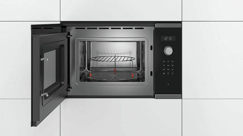 Lò Vi Sóng Kèm Nướng Âm Tủ Bosch BEL554MS0 Serie 6