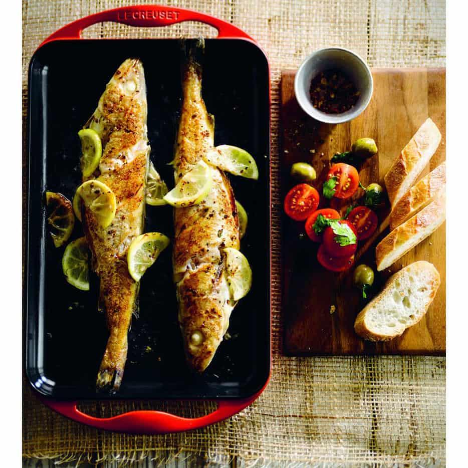 Grilled Fish with Lemon Large Gia Dụng Đức Sài Gòn