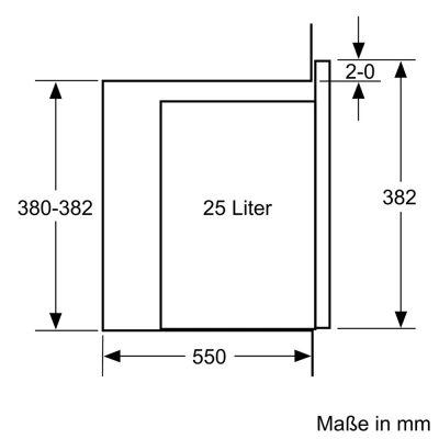 Lò Vi Sóng Kèm Nướng Bosch BEL554MS0 Âm Tủ