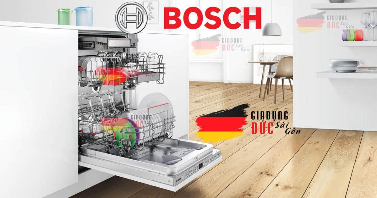Máy Rửa Chén Bosch Serie 8 Nhập Khẩu từ Đức