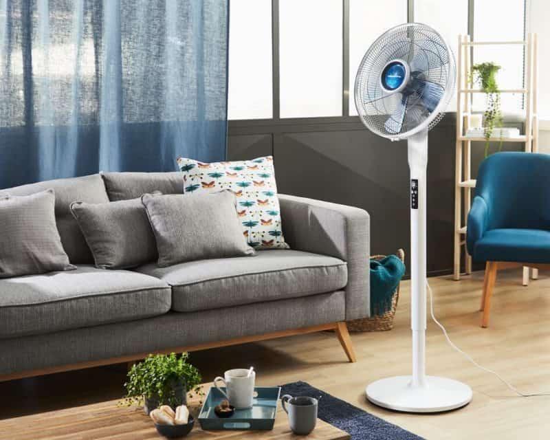 Quạt cây Rowenta VU5870 lý tưởng để sử dụng yên tĩnh khi ngủ, xem TV, làm việc hoặc học tập