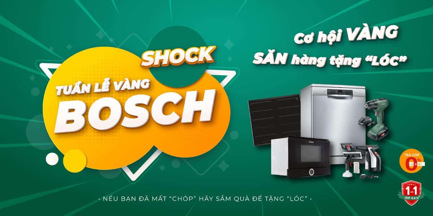 Tuần lễ Bosch Gia Dụng Đức Sài Gòn