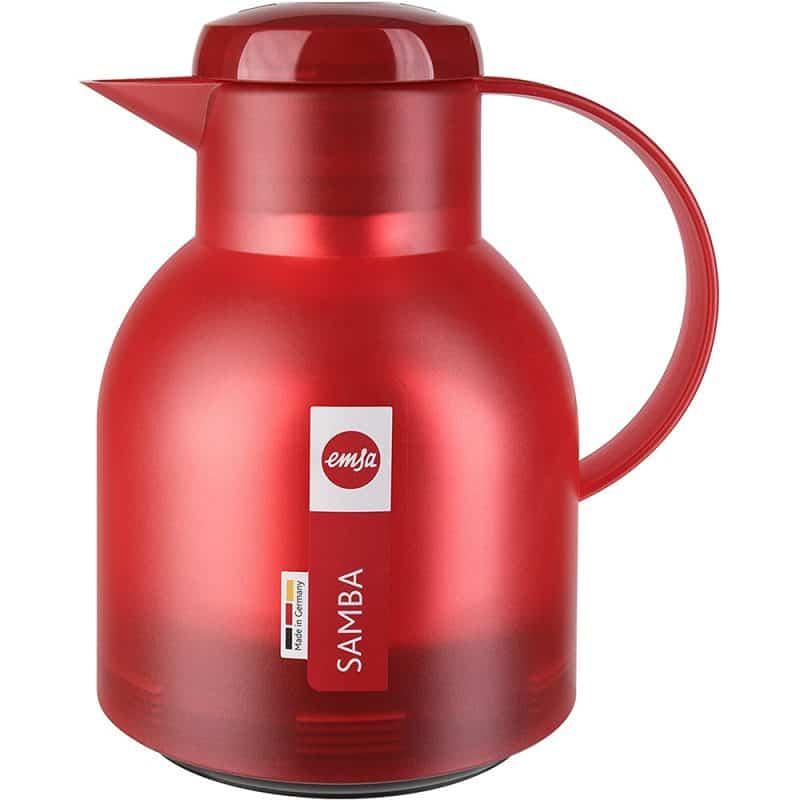 Bình Giữ Nhiệt Emsa Samba Vacuum 504232 - Red 1L