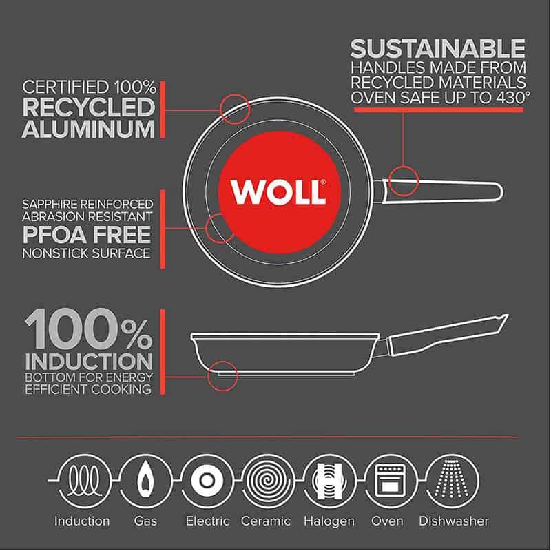 Chảo Gang Woll Eco Lite Saute 1728ELI