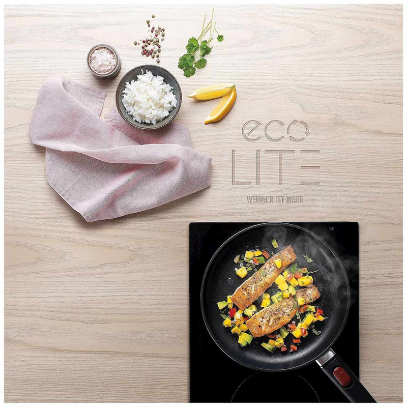 chảo gang Woll Eco Lite Try 1528ELI