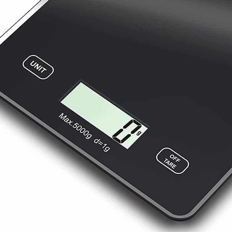 Cân Điện Tử Caso 3210 Slim Küchenwaage - Nhập Khẩu Từ Đức
