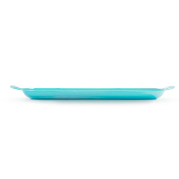 LeCreuset Grillpfanne rechteckig Trad.32x22cm Karibik Blau 5 Gia Dụng Đức Sài Gòn