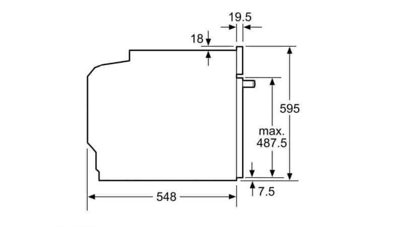 Lò nướng Bosch HBG635BS1 Series 8 -7